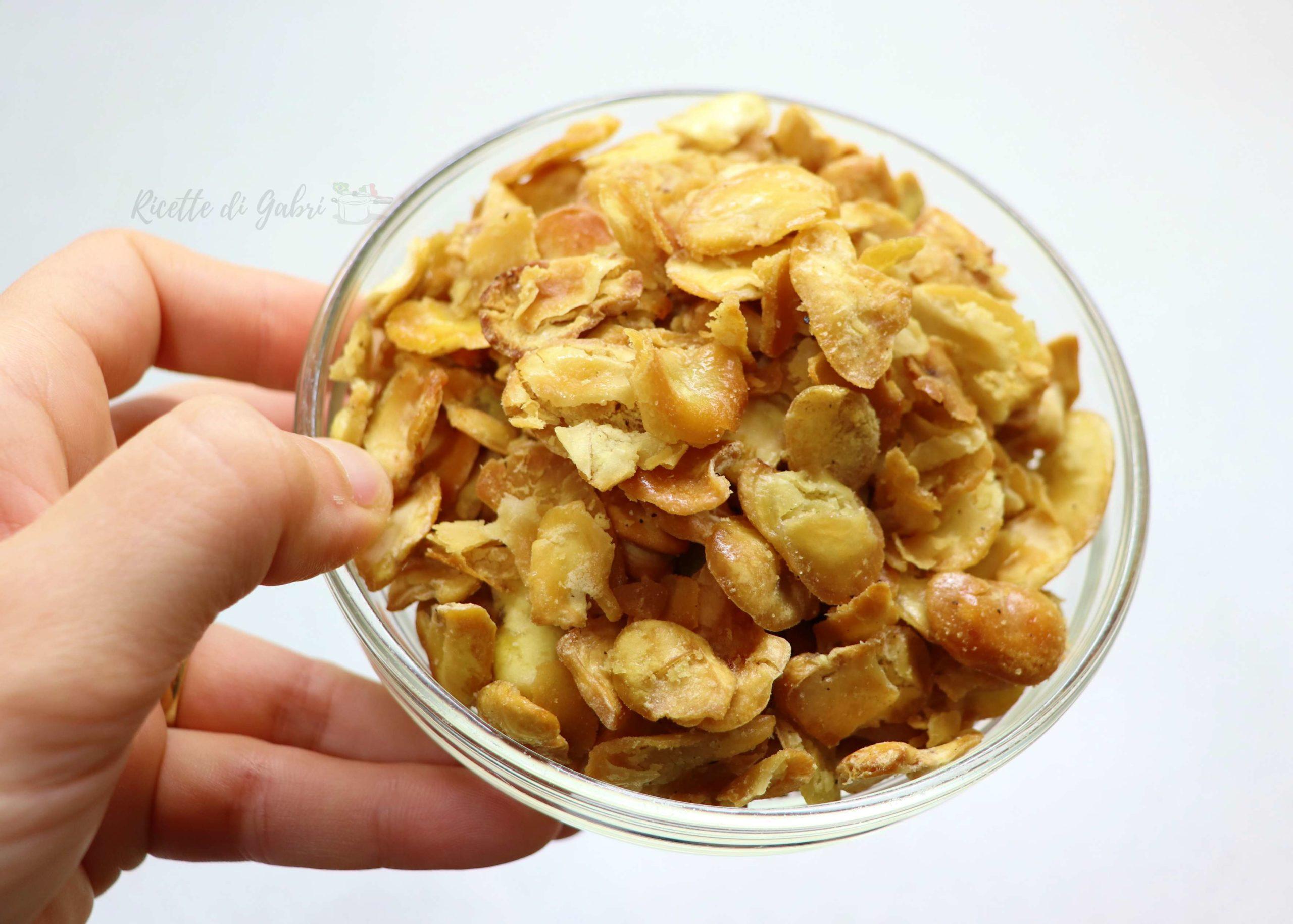 Fave favolose al forno ricetta facile antipasto snack sano ricette di gabri