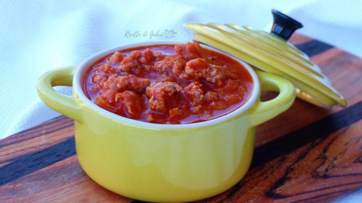 ragù di salsicce ricetta facile gabri