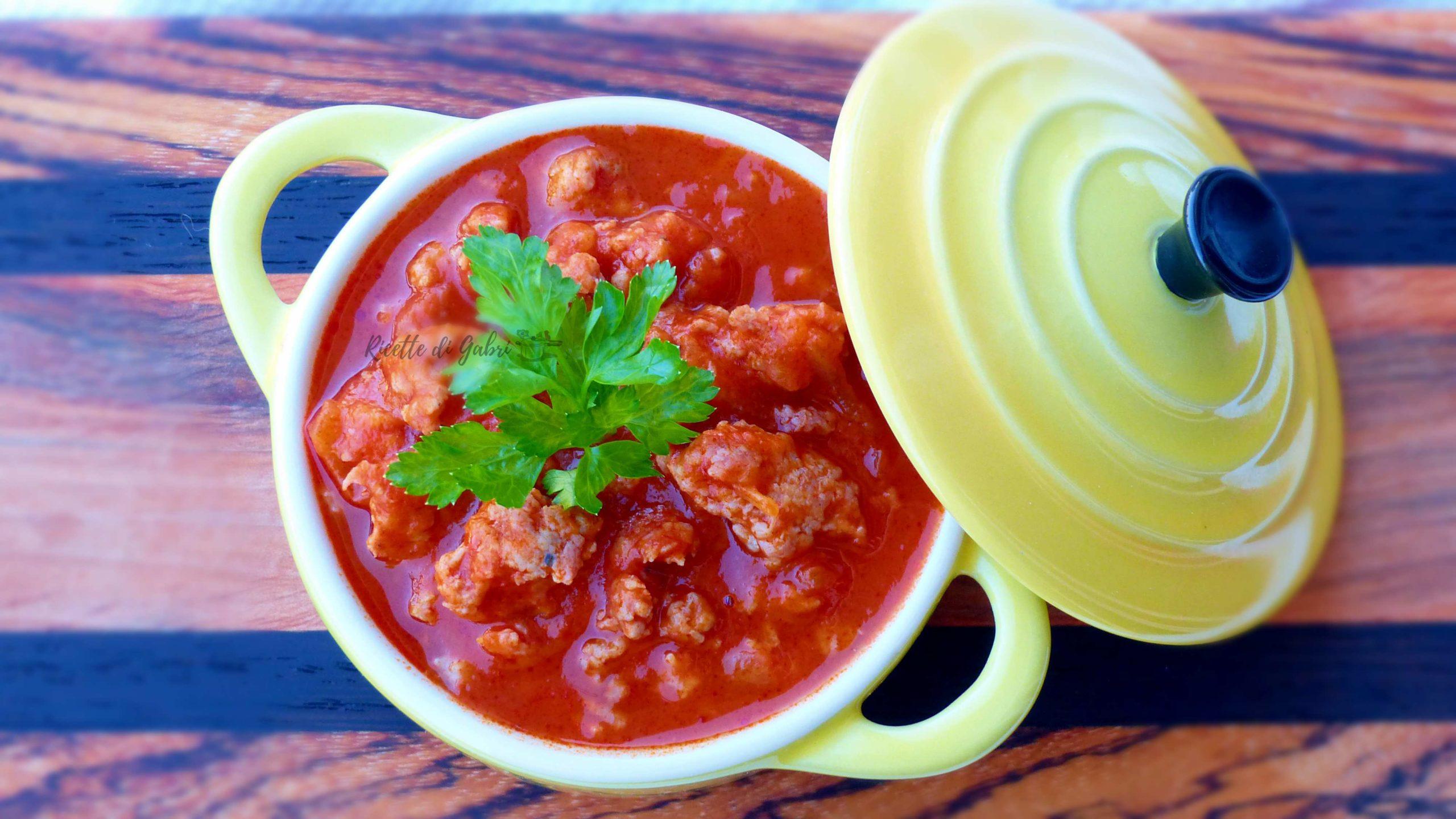 ragù di salsiccia semplice ricetta facile di gabri