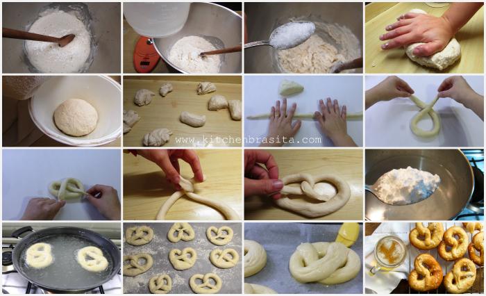 come fare il pane pretzel o bretzel in casa ricetta facile di gabri
