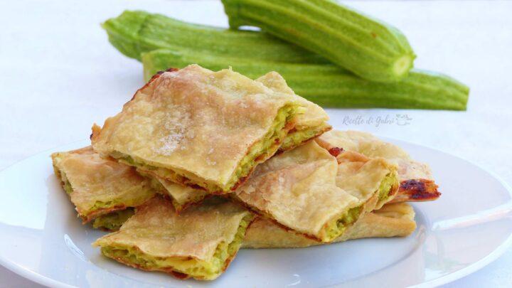 focaccia veloce di zucchine senza lievito schiacciata ricetta di gabri