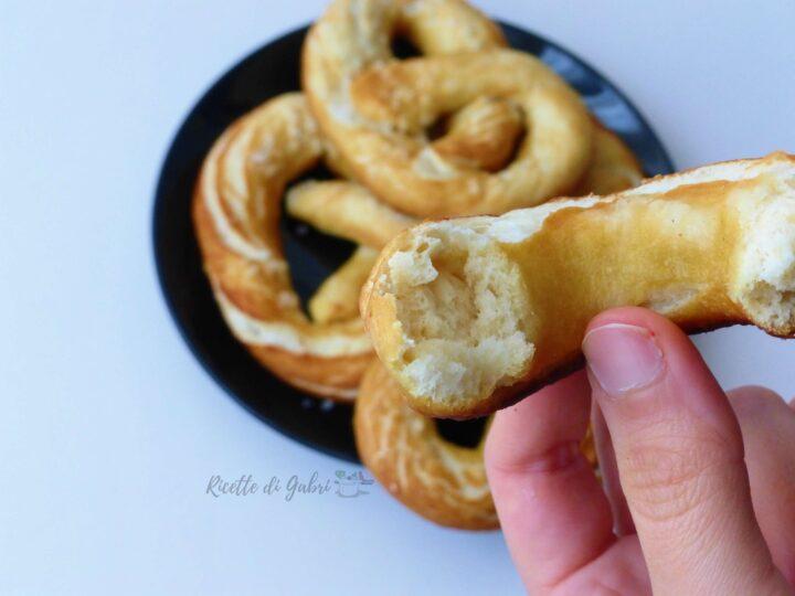 pane pretzel o bretzel ricetta originale tedesca di gabri