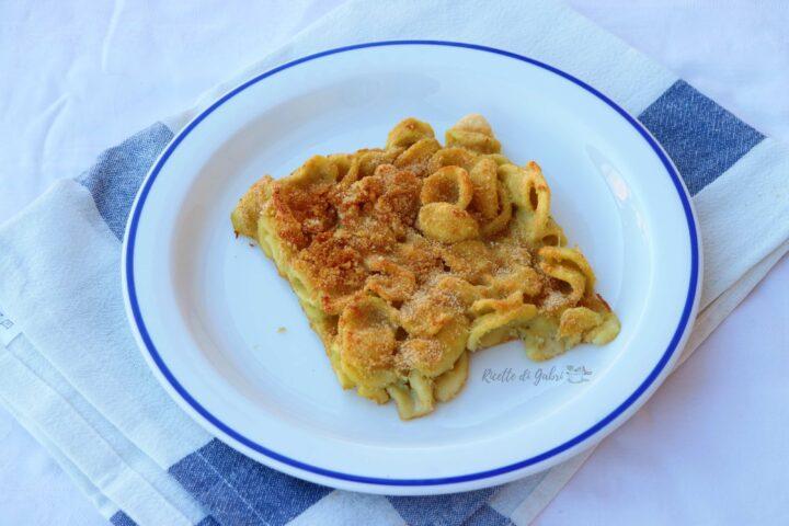 pasta al forno con carciofi ricetta furba veloce senza besciamella di gabri