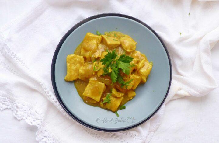 pollo al curry cremoso ricetta semplice facile veloce di gabri
