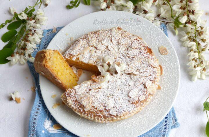 ricetta torta di riso dolce con fiori d'acacia ricetta facile di gabri