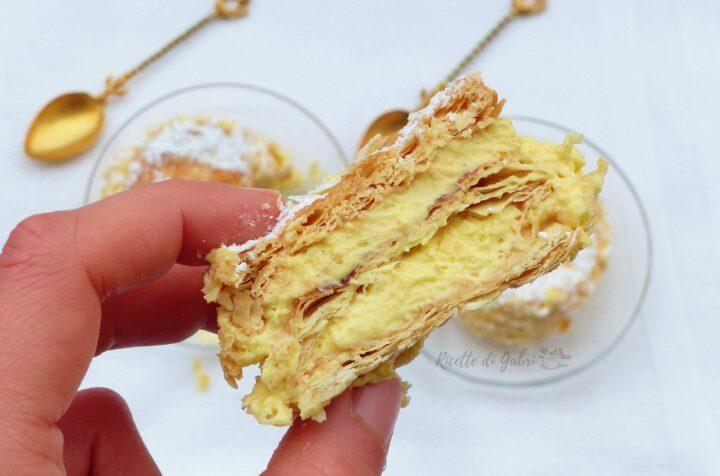 ricetta torta millefoglie classica fatta in casa da gabri facile veloce torta di compleanno matrimonio