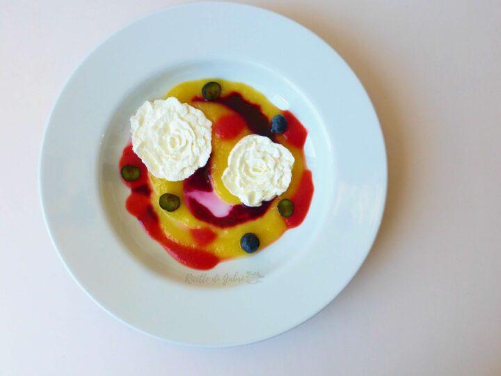 rose di yogurt e panna dolce al cucchiaio favoloso ricetta facile estiva di gabri