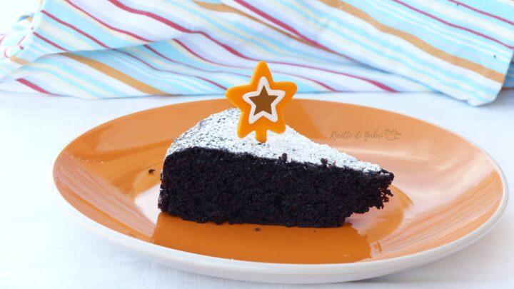 torta al cioccolato con maionese nell'impasto senza uova,latte, ne burro ricetta facile di gabri