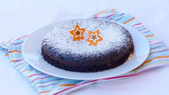 torta cioccolato e maionese ricetta geniale senza uova,burro, latte ne olio di gabri