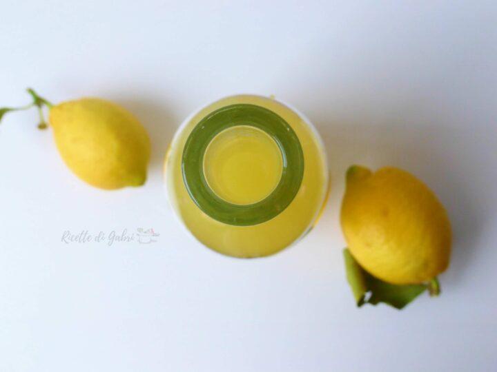 ricetta liquore limoncello fatto in casa gabri
