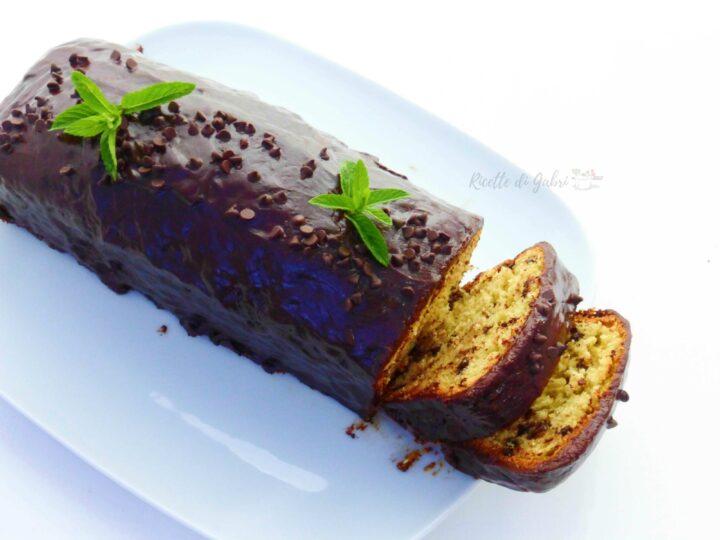 torta menta cioccolato plumcake soffice facile e veloce ricetta di gabri senza bilancia