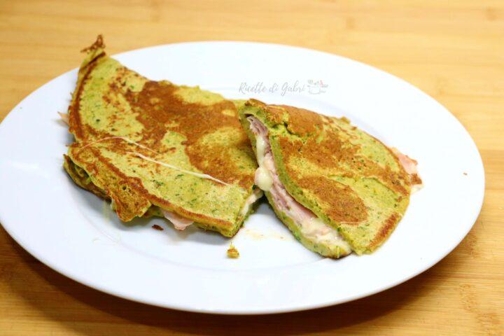 pancakes zucchine frittata ricetta veloce salva cena di gabri