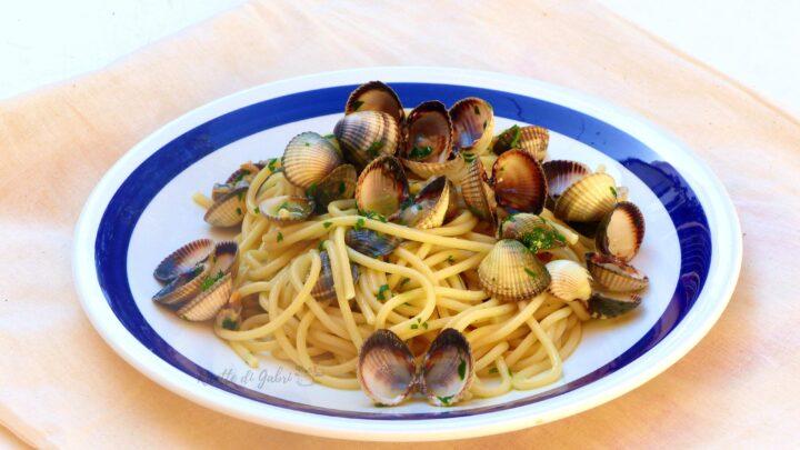 spaghetti alle vongole arselle pasta facile veloce di gabri