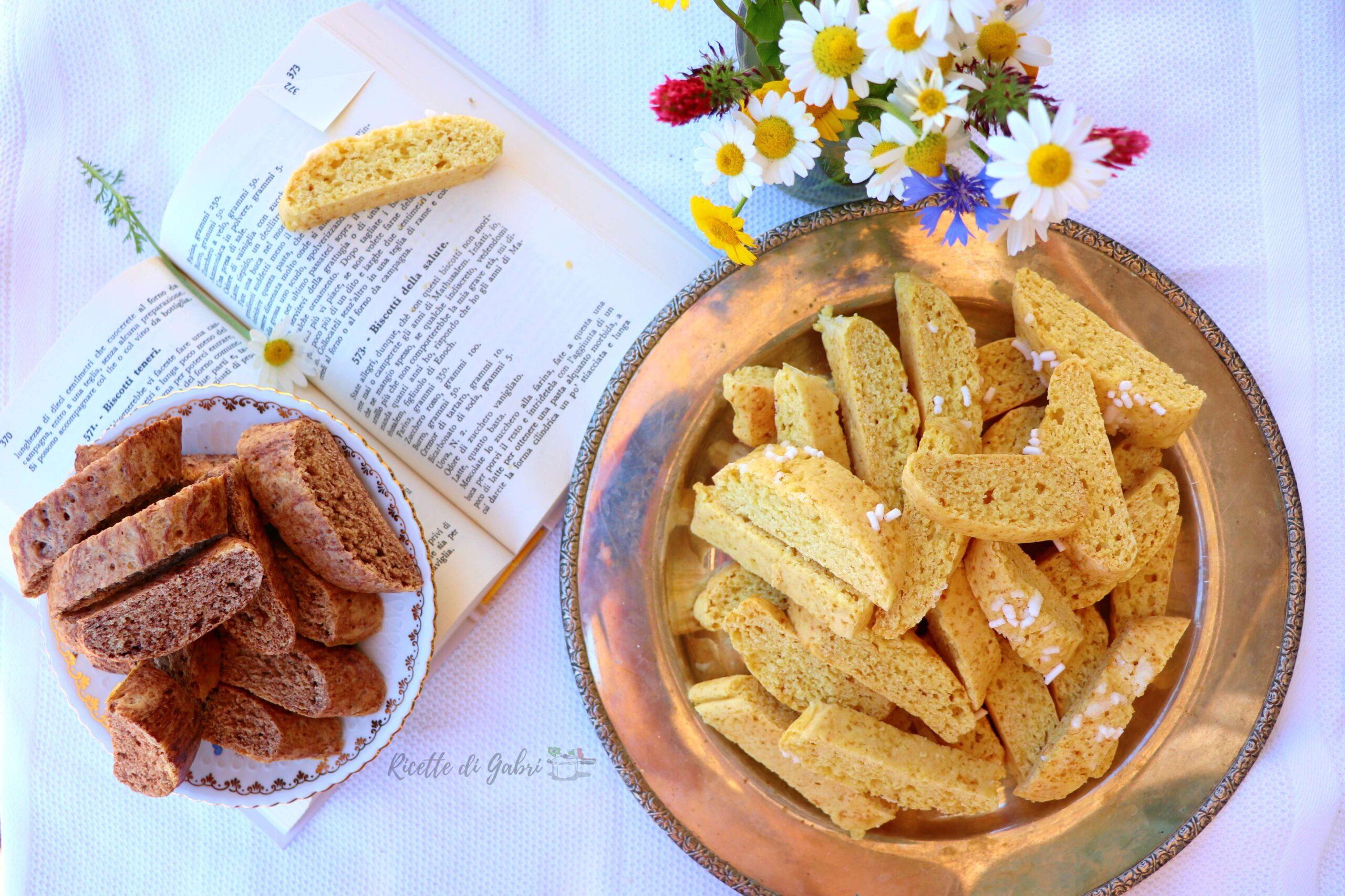 biscotti della salute di pellegrino artusi ricetta facile veloce tozzetti cantucci di gabri