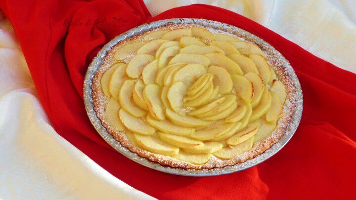 crostata ripiena di mele e crema fatta in casa da gabri ricetta facile veloce