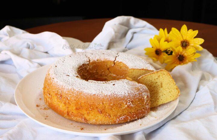 ciambellone sofficissimo senza burro ricetta facile e veloce di gabri torta bicchieri
