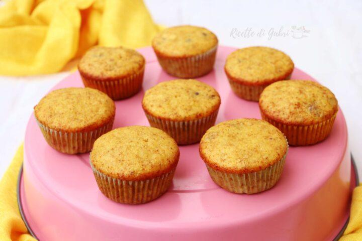 muffins alla banana senza burro solo un uovo ricetta facile di gabri
