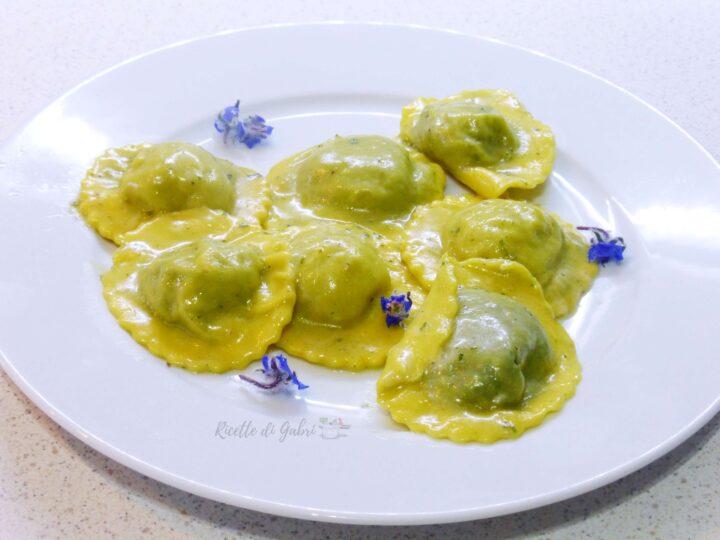 ravioli ripieni di borragine ricotta e patate ricetta facile di gabri
