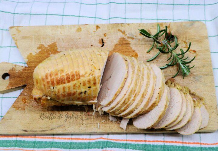ricetta arrosto rollè di tacchino alla birra ricetta facile gabri arrosto morbidissimo semplice