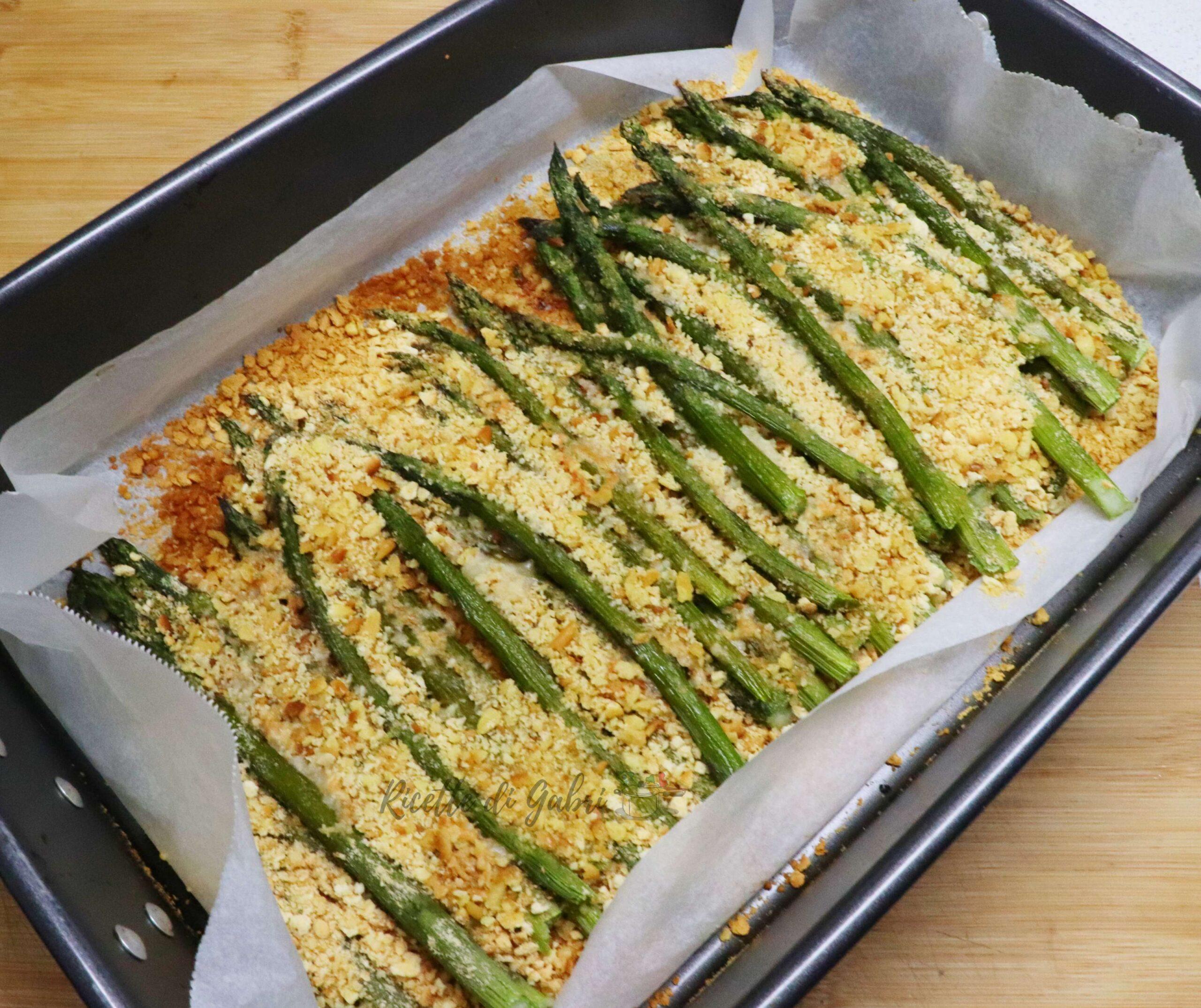 asparagi gratinati al forno ricetta facile di gabri