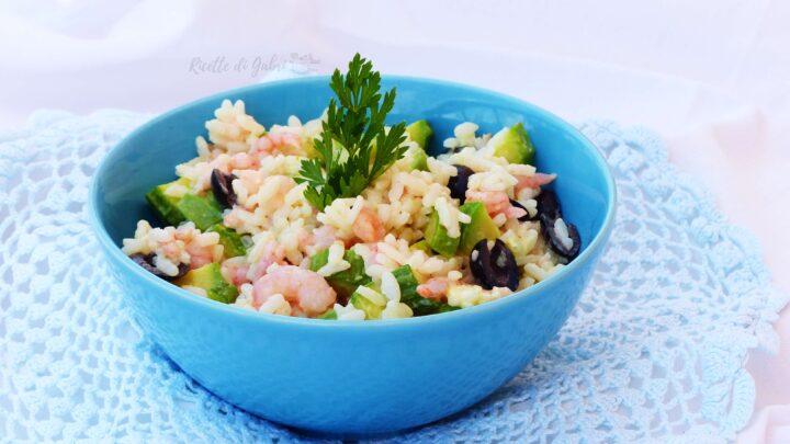 insalata di riso con zucchine e gamberetti piatti freddi ricetta facile di gabri