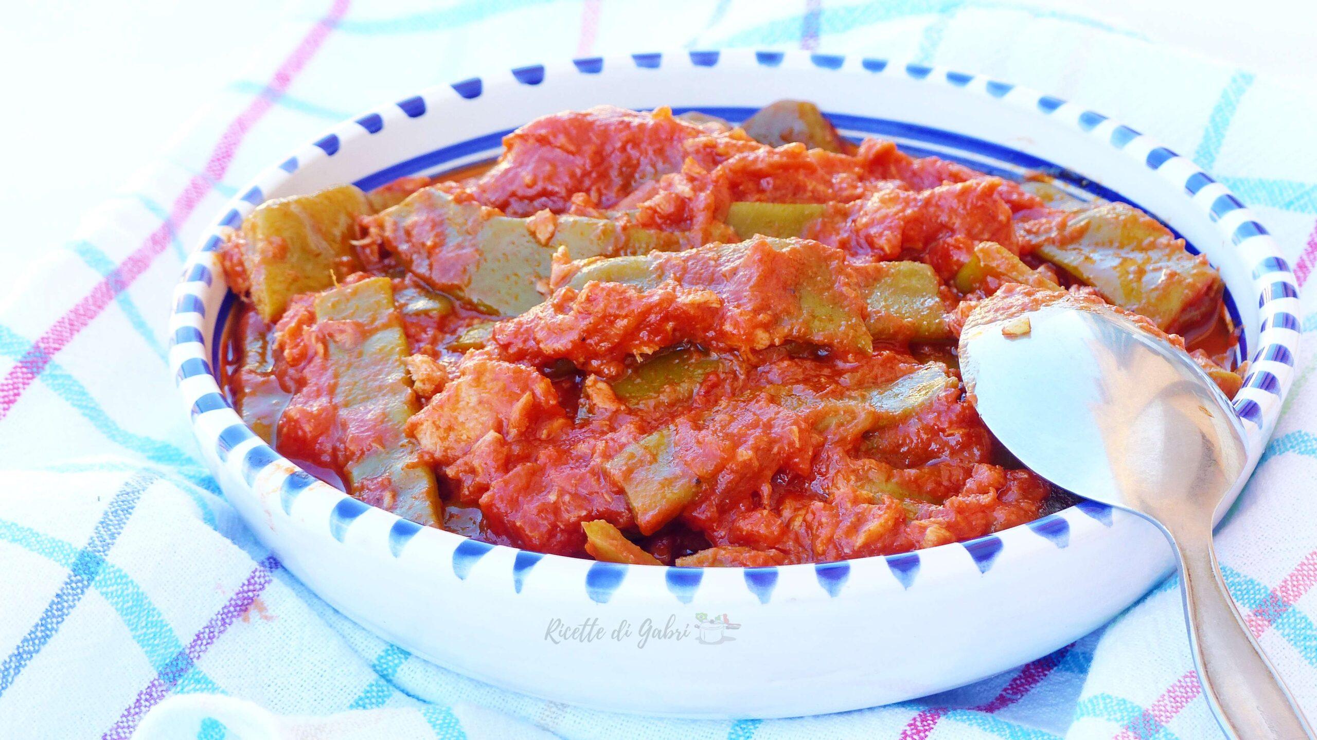 taccole al pomodoro senza lessare fagioli piattoni ricette facili veloci gabri contorni