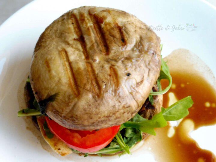 panino vegano panino di funghi champignon ricetta facile veloce di gabri