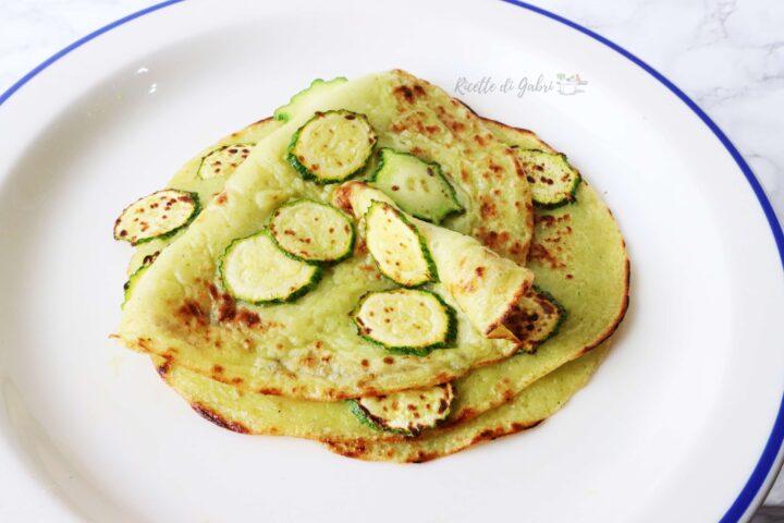 ricetta crepes senza uova con zuchine ricetta facile e veloce di gabri