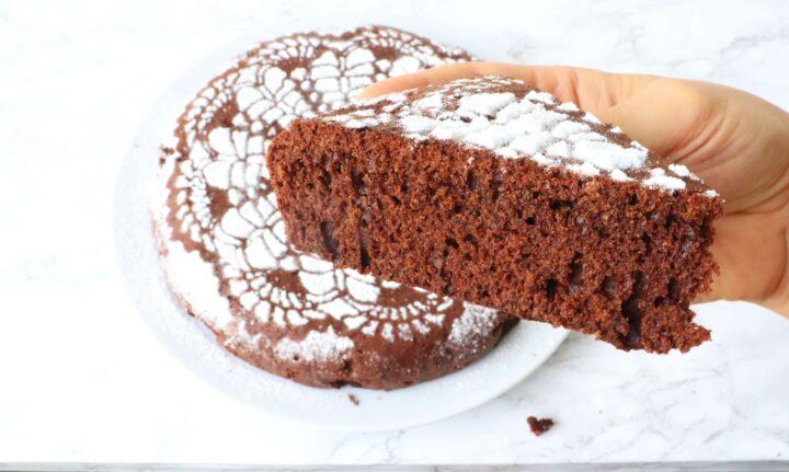 torta al cioccolato cotta in padella ricetta facile veloce torta cacao soffice senza forno di gabri