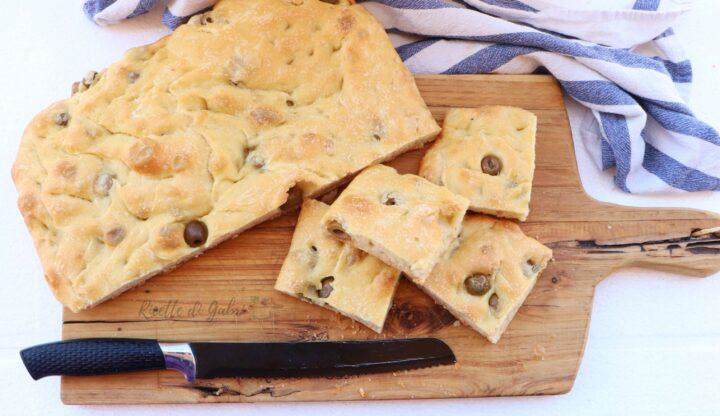 focaccia alle olive soffice gabri