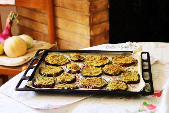 ricetta melanzane al forno gratinate contorno veloce conservare melanzane per l inverno