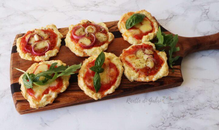 pizzette morbide senza lievito pizza proteica con albumi ricetta facile veloce sfiziosa di gabri