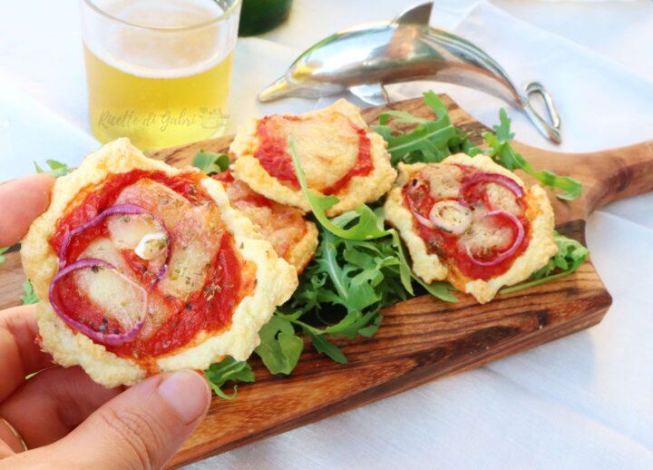 pizzette morbide da buffet pizza proteica con albumi ricetta facile veloce sfiziosa gabri