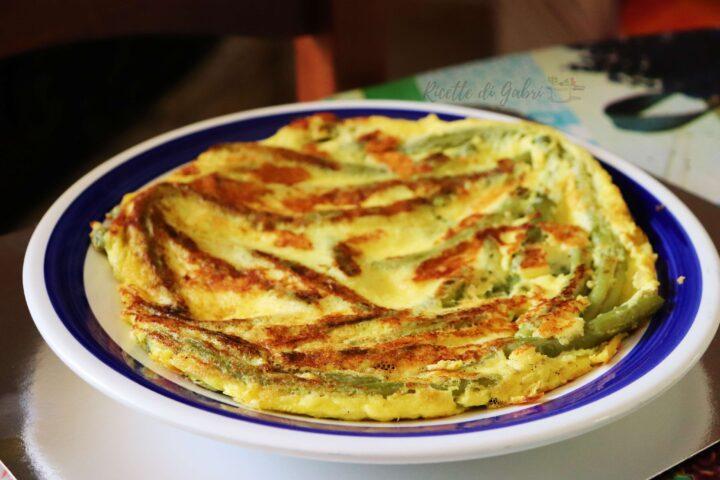 ricetta frittata di fagiolini in padella salvacena veloce facile di gabri ricette svezzamento
