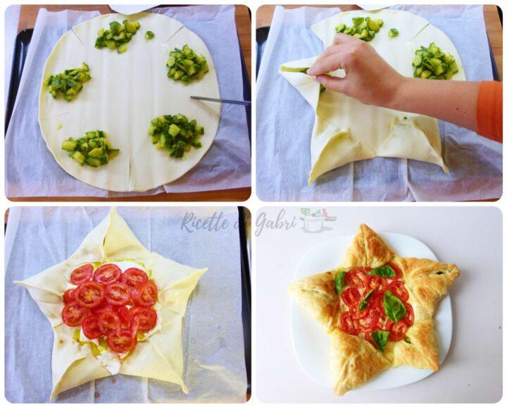 idee antipasto natale sfoglia stella torta rustica facile veloce gabri pizza a stella di pasta sfoglia torta salata