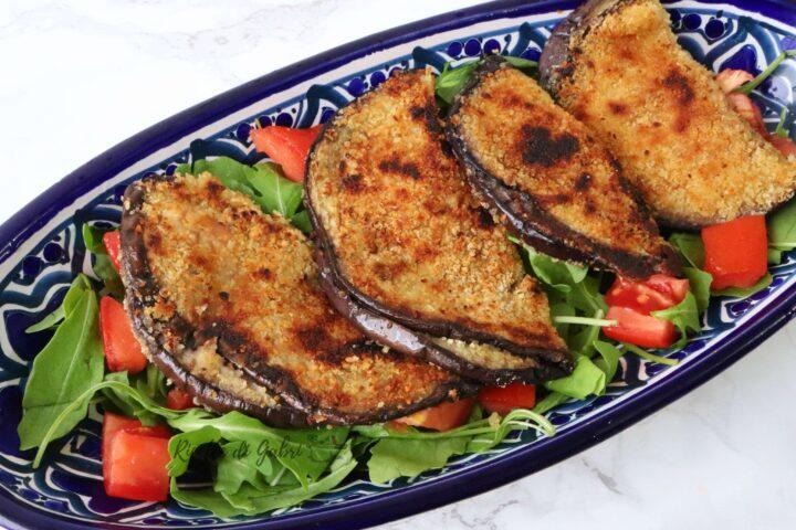 ricetta sfiziosa melanzane in padella sofficini al forno fatti con melanzane grigliate ricetta facile veloce di gabri
