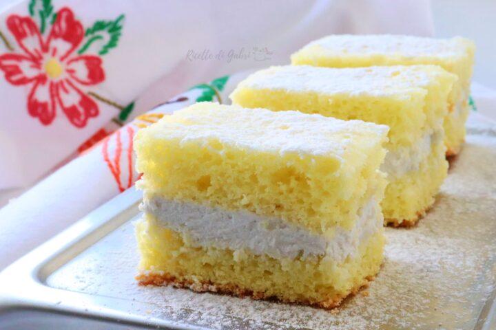torta kinder paradiso senza lattosio pan di spagna in padella dolci senza forno facile veloce gabri