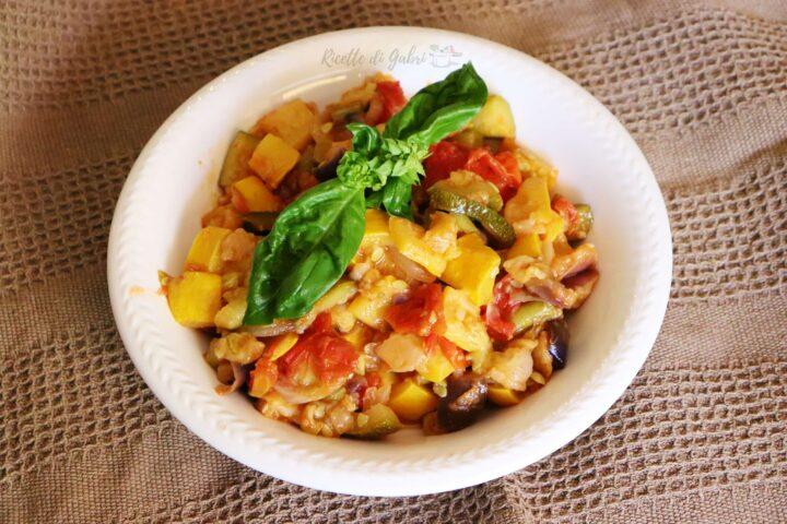 ricetta verdure in agrodolce in padella
