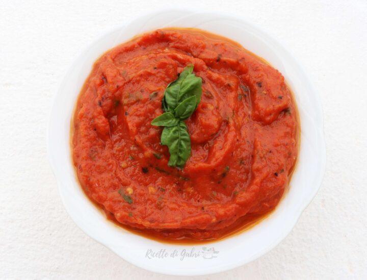 sugo di pomodori arrosto ricetta facile e veloce di gabri